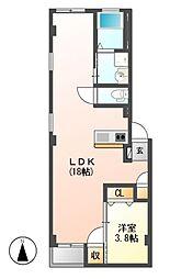 仮)グランレーヴ東別院WEST[3階]の間取り