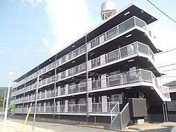 岡山県倉敷市真備町川辺の賃貸マンションの外観