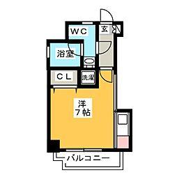 エステート・モア・イーストパーク[7階]の間取り