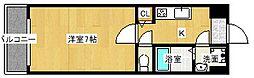 Goパレス福島[6階]の間取り