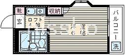 4910−スターホームズ[2階]の間取り