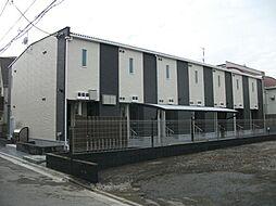 東京都江戸川区松江7丁目の賃貸アパートの外観
