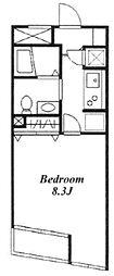 KDXレジデンス三宿[2階]の間取り