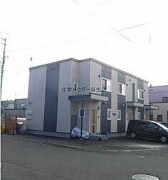 [テラスハウス] 北海道札幌市北区新琴似一条9丁目 の賃貸【/】の外観