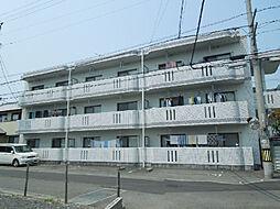 愛媛県松山市北久米町の賃貸マンションの外観
