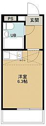 レノ所沢[108号室号室]の間取り