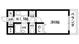 ステラハウス11[307号室]の間取り