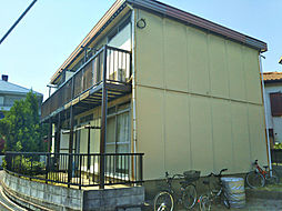 埼玉県川越市霞ケ関東4丁目の賃貸アパートの外観