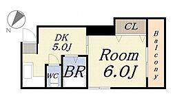 さつきマンション[3階]の間取り