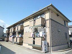愛知県名古屋市中川区戸田明正2丁目の賃貸アパートの外観