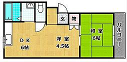 M'PLAZA津田駅前六番館[3階]の間取り