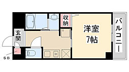 Enuz45[101号室]の間取り