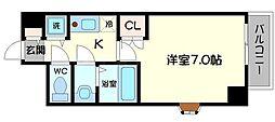 守口駅前敷島ビル[3階]の間取り