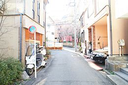 閑静な住宅街です。ゆったりとして過ごして頂けます。