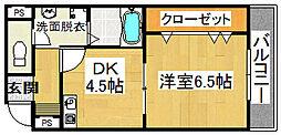 コレクトフォーレ住道[5階]の間取り