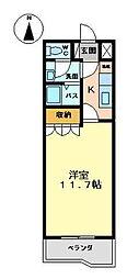 オータムウィンズ[1階]の間取り
