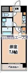 CASSIA高井田NorthCourt[7階]の間取り