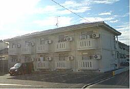 岡山県総社市井手の賃貸アパートの外観