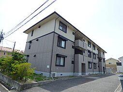 長野県長野市三輪 3丁目の賃貸アパートの外観