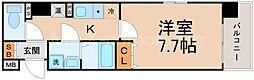 パセオ十三東[7階]の間取り