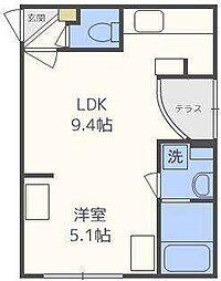 GRANDWOOD KANON[3階]の間取り