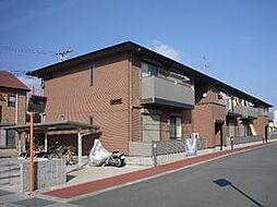 奈良県葛城市東室の賃貸アパートの外観