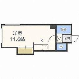 レジデンス14[4階]の間取り