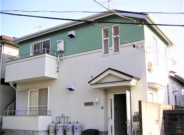 東栄柿生ハイツ[1階]の外観