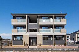 吉祥院中河原西屋敷町アパート[3階]の外観