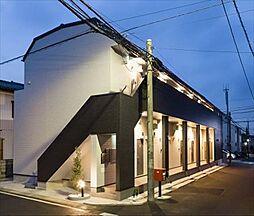 千葉県流山市松ケ丘4丁目の賃貸アパートの外観