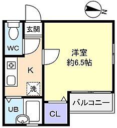 メゾン薬円台[2階]の間取り
