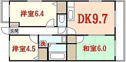 ノネット東野[3階]の間取り