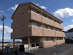 岐阜県美濃加茂市加茂野町稲辺の賃貸マンションの外観