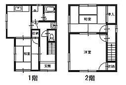 [一戸建] 兵庫県姫路市飾磨区今在家北3丁目 の賃貸【/】の間取り