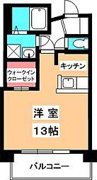 メゾンドムーアII[305号室]の間取り