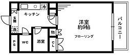 ソナーレ立川II[2階]の間取り