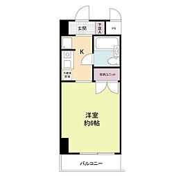 RESID787[0616号室]の間取り