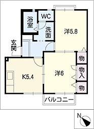 M'sハウス[2階]の間取り
