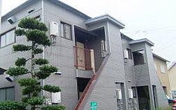 コーポラスチュチュA棟[2階]の外観