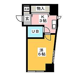 第1田口ビル[7階]の間取り