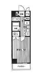 NOWA BUILD.III[4階]の間取り