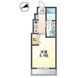 小田急小田原線 鶴巻温泉駅 徒歩5分の賃貸アパート 1階1Kの間取り