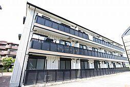 大阪府吹田市山田南の賃貸アパートの外観