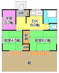 [一戸建] 東京都練馬区西大泉2丁目 の賃貸【東京都 / 練馬区】の間取り