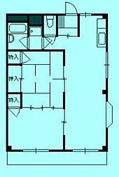 KSマンション[3階]の間取り