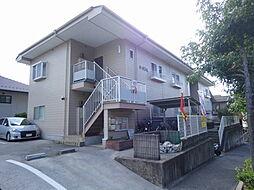 広島県広島市西区井口台1丁目の賃貸アパートの外観