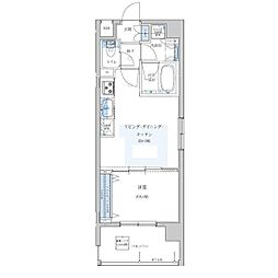 Portside Urban Residence[501号室]の間取り