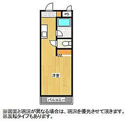 SKマンション[3階]の間取り