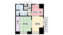 ラントベルク夙川[101号室]の間取り