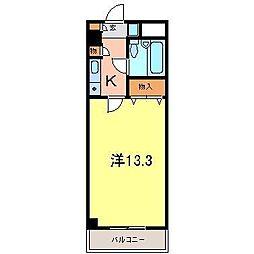 エスポ・アール高松[3階]の間取り